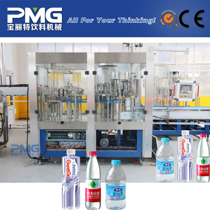 Fully automatic water filling machine and equipment / line
