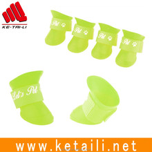 Eco-Friendly Feature silicone pet dog rain boots
