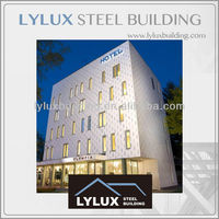 Steel structure luxury hotel prefabricated hotel prefab hotel