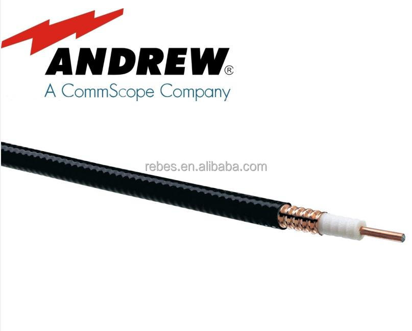 LDF4-50A ANDREW 1/2 Feeder cable Heliax Foam Dielectric cable