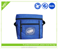 Customized recycle cooler bag with speaker s