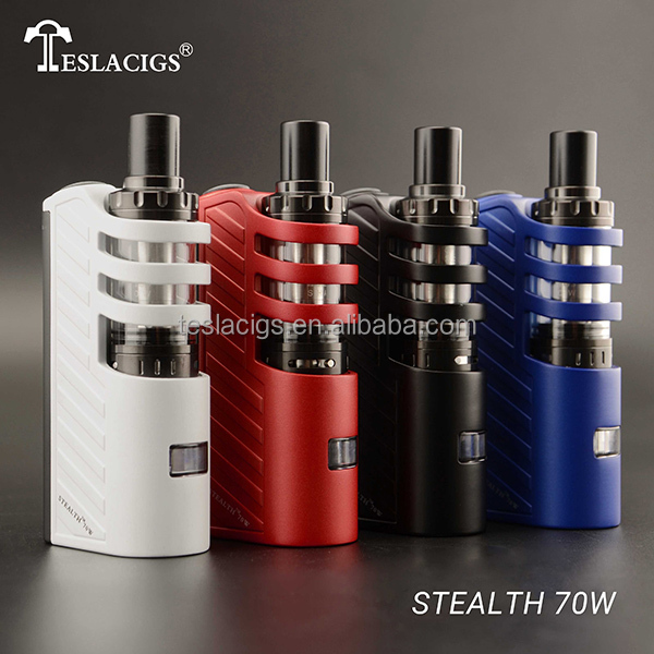 Newest Heaven Gifts Coming!!Tesla Stealth 70W TC Starter Kit With Shadow Tank