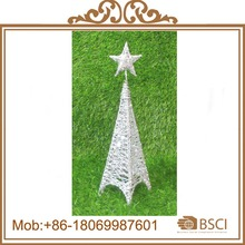 Outdoor Christmas Ornament/ Decorative Metal tree