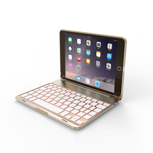 New design 7.9 inches bluetooth keyboard case for iPad mini4 iPad case