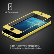 New!! 0.15mm! thinnest real glass! 0.15mm tempered glass screen protector for Iphone5C
