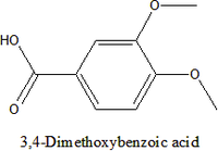 3,4-Dimethoxybenzoic acid crystal;Veratric acid;CAS#93-07-2;C9H10O4;antimicrobial agents, antifeedants