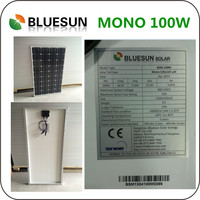 Cheap Price 100W 12V Solar Panel Set 100 Watts Solar Energy Module Kit 100Wp PV Panels