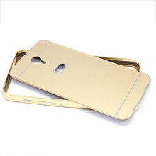 Luxury Metal Aluminum Bumper + PC Back Case Cover For TCL 3S M3G Protective Case