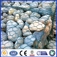 ISOquality stone cages/gabion box/gabion basket with protective funtion