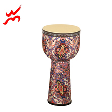 Cloth-art africa djembe drum packed in wooden case