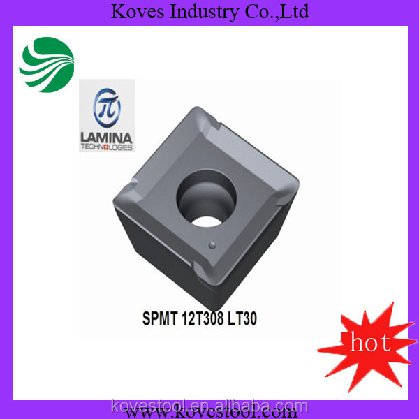 Tungsten carbide Lamina insert for milling cutters