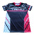 Dry fit 100%polyester sports printed tee shirts lightweight fabric women sublimation printing running t shirt