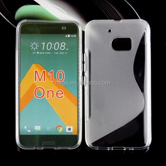S Line TPU Flexible Soft Cover For HTC 10 One <strong>M10</strong> <strong>Phone</strong> Case