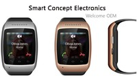 Smart hand watch mobile phone price factory price
