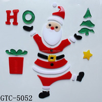 Wholesale good design 3d christmas nail stickers christmas stickers free