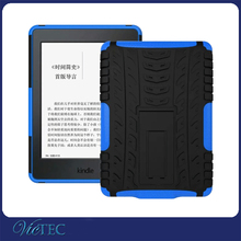 Hybrid kickstand back cover case for kindle paperwhite 1 2 3