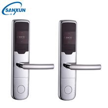 Wholesale price sale smart hotel key card lock, rfid hotel room door lock