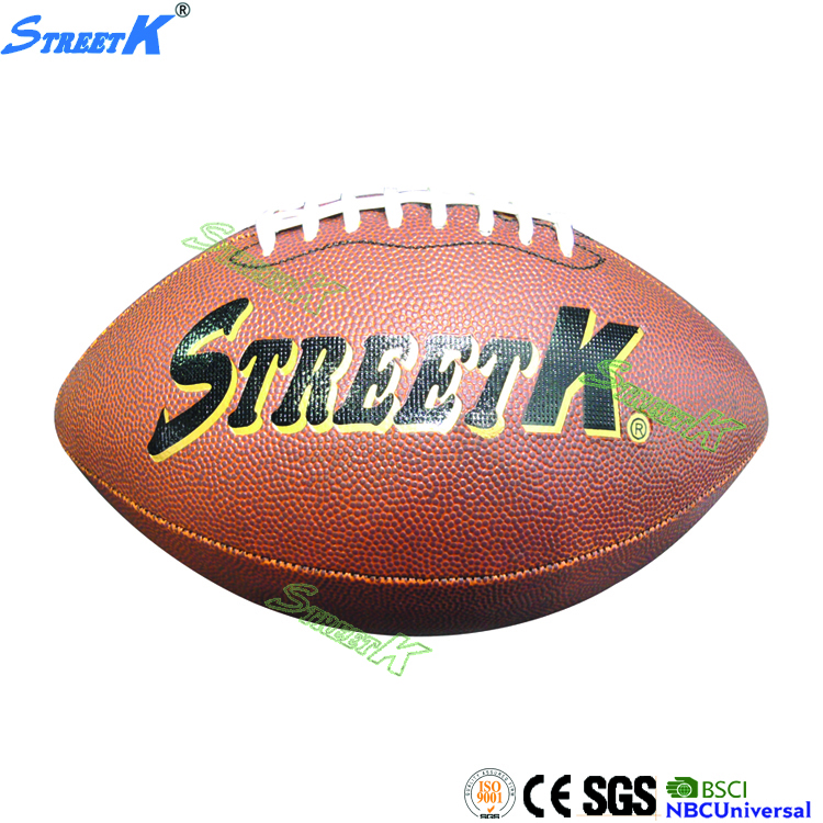 sale american football rubber band ball promotional vintage leather rugby ball