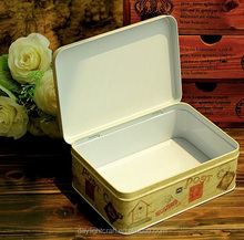 Iron Lovely collectible tin boxes,metal tin box, christmas gift packaging box