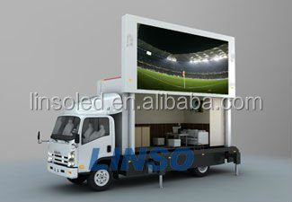 Yeeso hot sale led truck display screen for mobile video ads