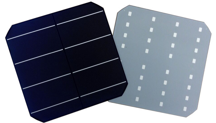6 inch 156x156 mm high efficiency A grade 3BB/4BB monocrystalline solar cell made in Taiwan