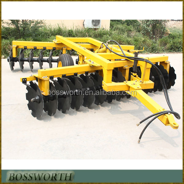 tractor implements disc drag harrow