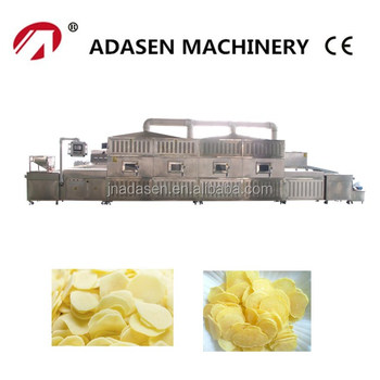 New products microwave baking machine for potato chips