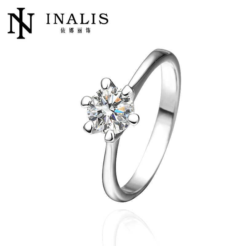 Inalis 18K Series 2014 vogue jewelry wedding rings R252