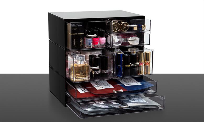 High Quality Transparent Acrylic Makeup Display Box