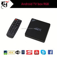 Original Tronsmart Orion R68 Meta Android TV Box RK3368 Octa-core CPU Android 5.1 Lollipop 2G/16G hd 2.0 H.265 2.4/5GHz WiFi 4K