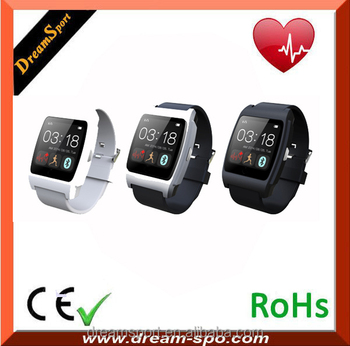 2015 Bluetooth 4.0 1.44' Screen Android & IOS i5 smart watch phone