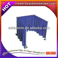 ESI chiffon wedding wall curtains with stand.Wedding backdrop,wedding drapery