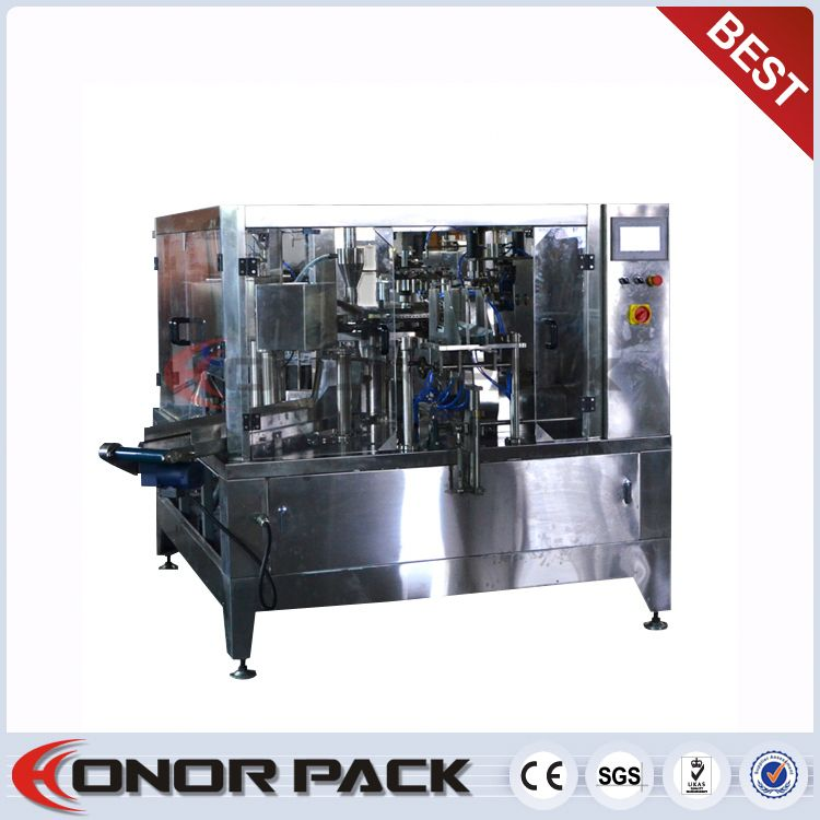 China Toilet Paper Roll Packing Machine ( Pre-made Bag Packing Machine )