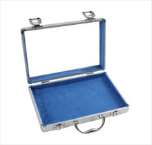 APC005 aluminum tool case with clear lid