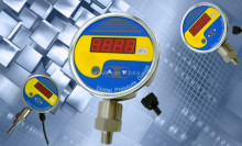 All ss digital pressure gauge/digital hydraulic pressure gauge