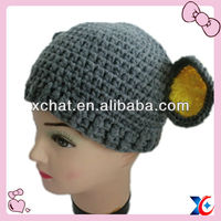 Total hand making animal shape hat