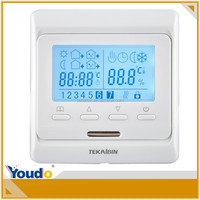 LCD FCU Screen led Room Thermostat For Central Air Conditioning High Quality airconditioner 3 speed fan switch