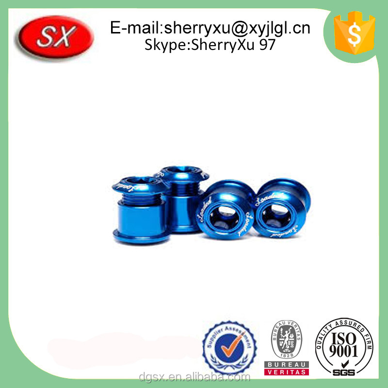 Customized Chrome Plating Steel Chainring blinding Bolts/chainring bolts