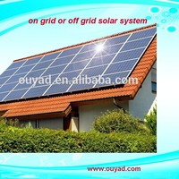 Lower price 3kw PV Module home solar panel kit for grid system