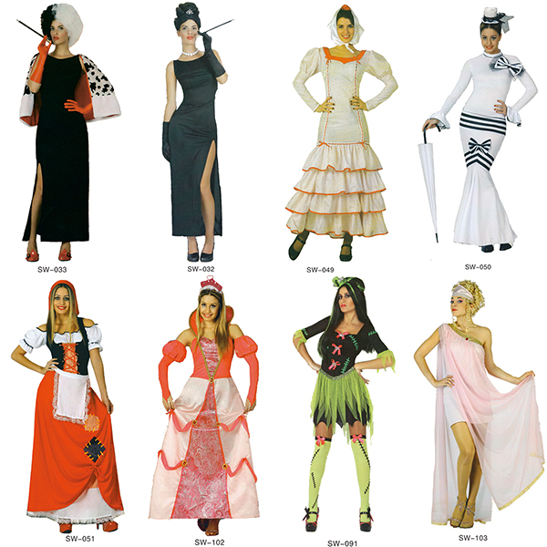 Factory best selling halloween costumes women