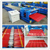 Automatic Aluminum Profile Making Machine Equipment Manufacturing Roof Tiles