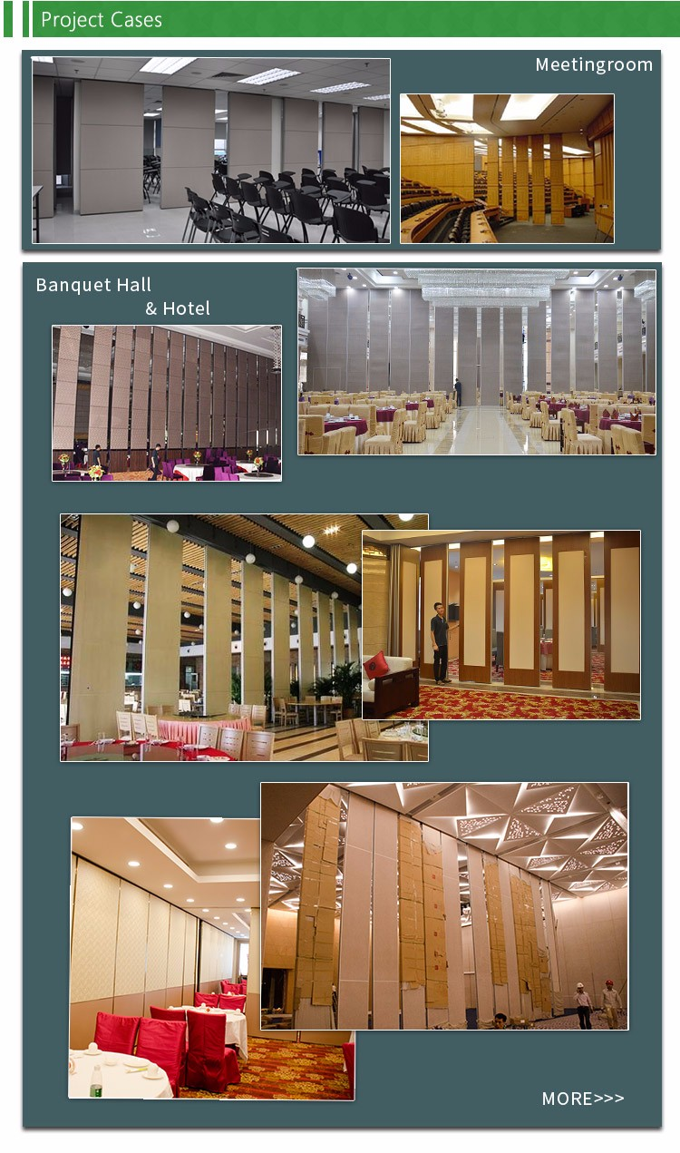 Acoustic fabric panel movable partition walls system