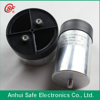 DC high-voltage pulse generator capacitor 1100VDC 400UF for motor