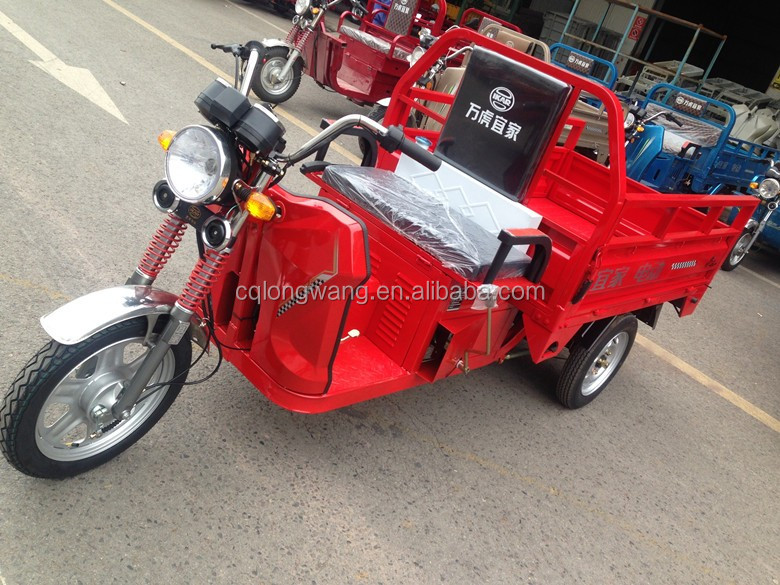 China manufacturer 120cc oil & electric auto rickshaw