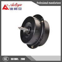 Small and powerful electric motor for exhaust fan