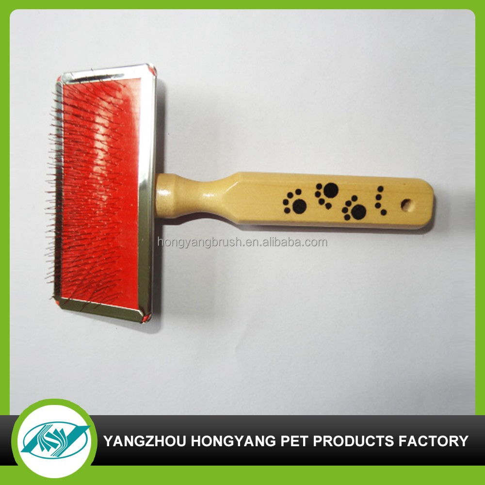 Wooden dog&cat related animal brushes 2016 new pet comb products accessories manufacturer