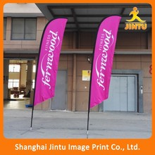 merry christmas advertising flags/polyester flags (JTAMY-2015120402)