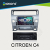 Hot selling high quality OEM citroen c4 dvd gps radio tv bluetooth system with car multimedia from shenzhen factory