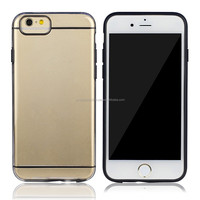 IMPRUE 2015 Ultra Slim Clear Hard TPU+PC Case With Dual Colors for iPhone6 Plus 8 Colors Available