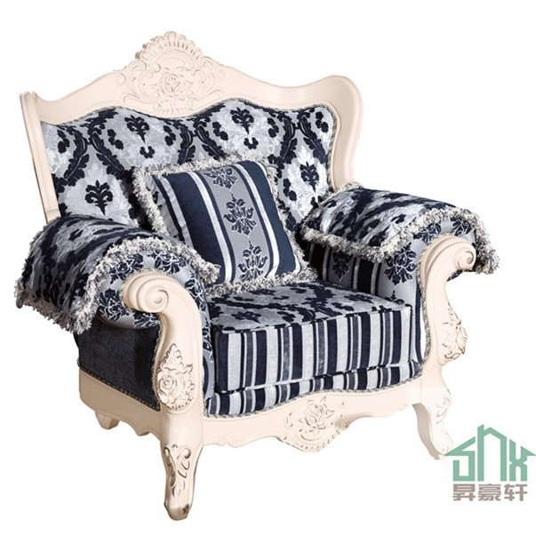 China Made Luxury Living Room Furniture Chinioti Queen Anne Sofa